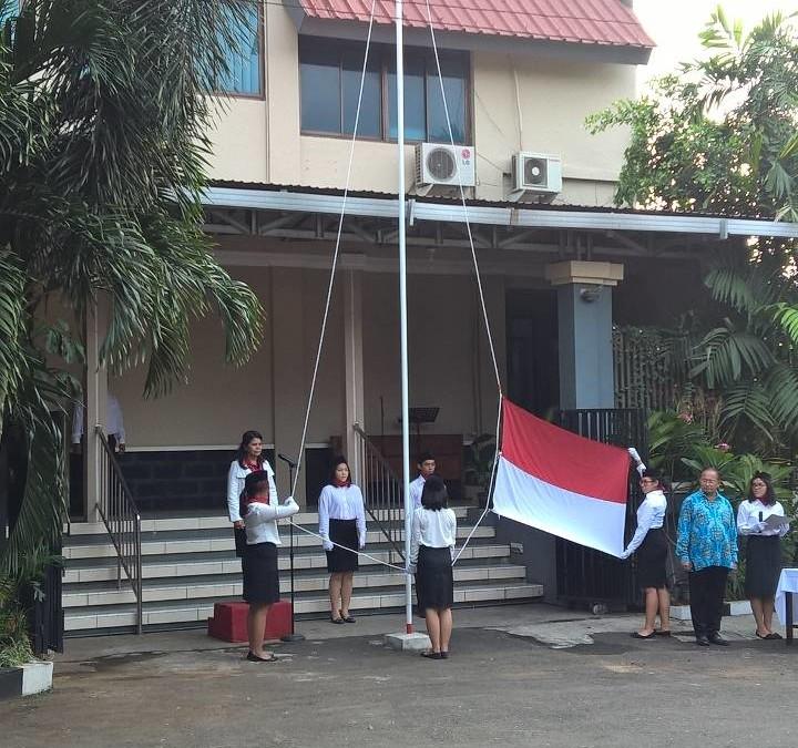 Upacara Bendera HUT RI ke-70 17 Agustus 2015