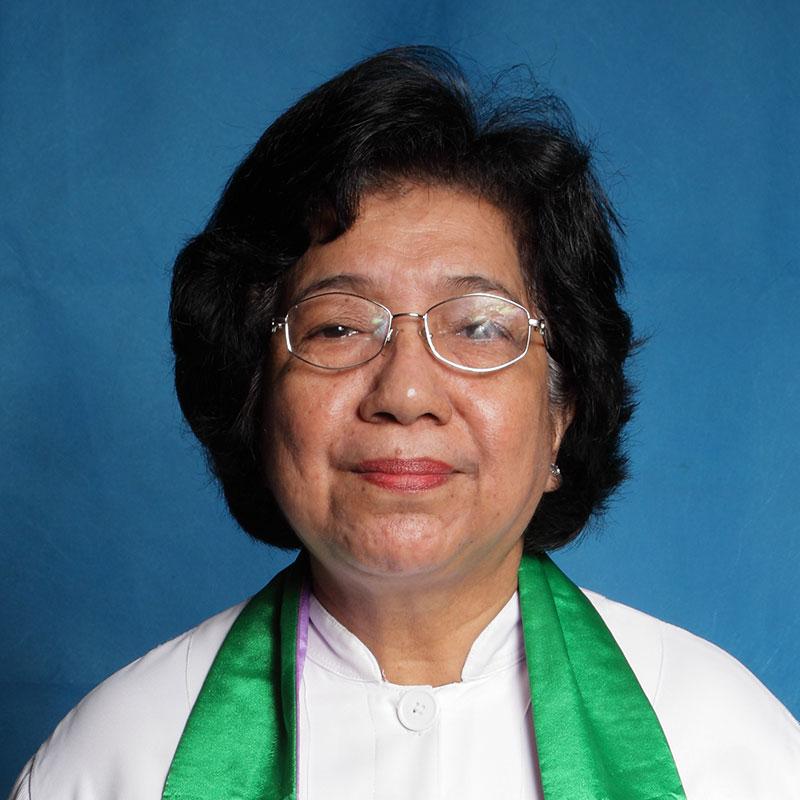 Pdt (Em) Ny. Martha Maria Mual-Loppies, M.Si.