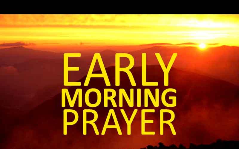 Doa Pagi Pagi & Ibadah Karyawan (1 & 5/12)