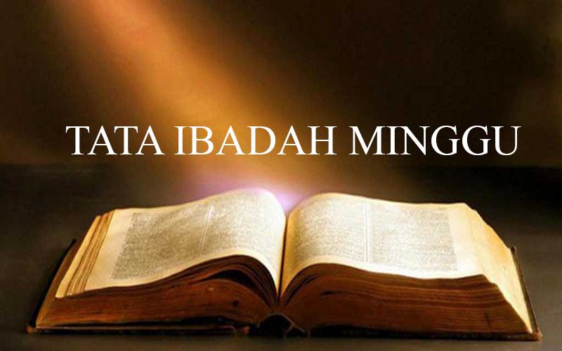 Tata Ibadah Minggu 10 April