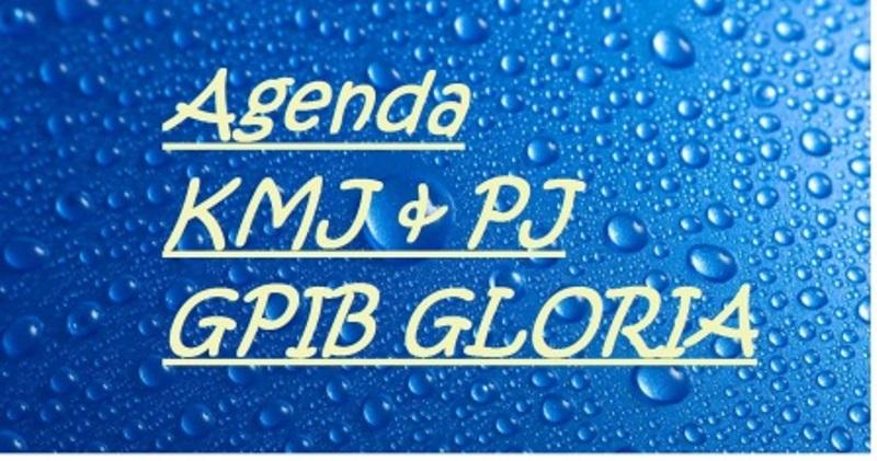 Jadwal Kegiatan Ketua Majelis Jemaat (KMJ) dan Pendeta Jemaat (PJ) 03 – 10 April