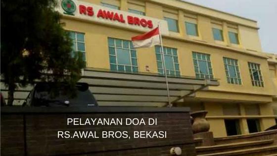 Pelayanan Doa ke Rumah Sakit Awal Bros Bekasi, 31 Mei dan 07 Juni