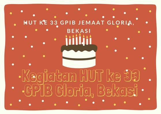 Pemenang Lomba HUT ke 33 GPIB Gloria Bekasi