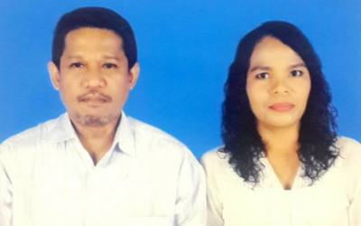 Pemberkatan dan Peneguhan Perkawinan Sdr Danvet dan Sdri Julianita