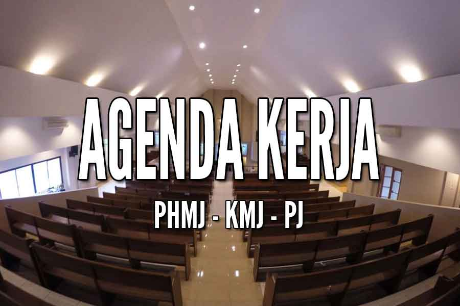 Jadwal Kegiatan PHMJ,KMJ dan PJ 21-28 Mei '17