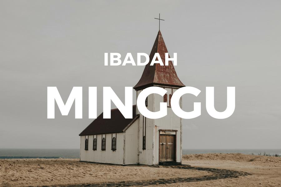 Ibadah Minggu 01 Juli '18