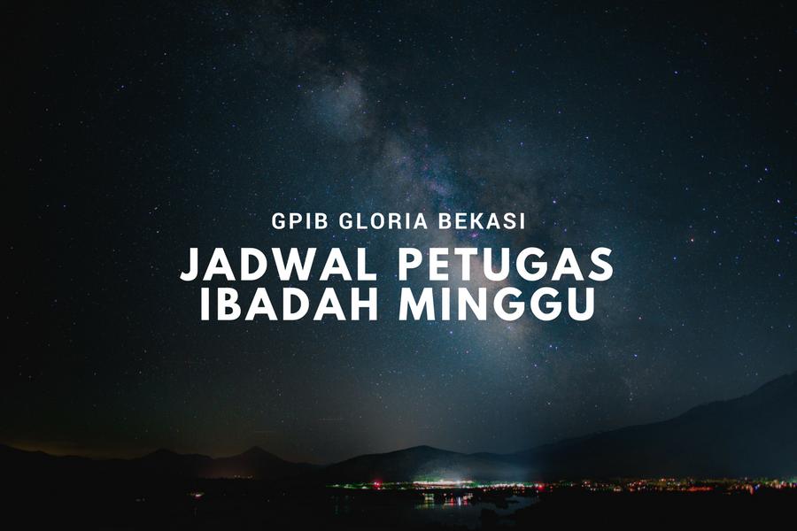 IBADAH MINGGU 28 JAN '18