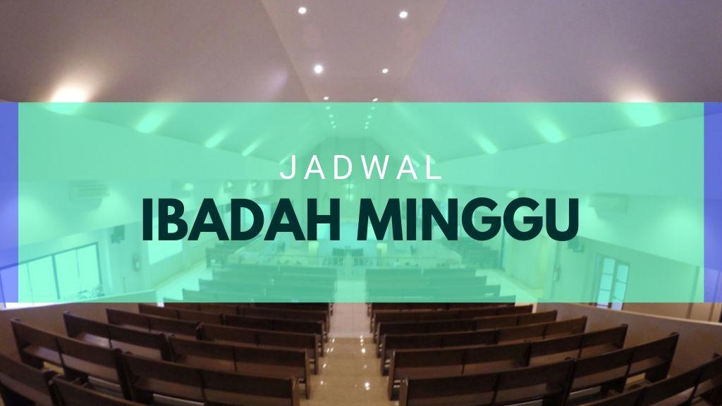 Ibadah Minggu 10 November 2019