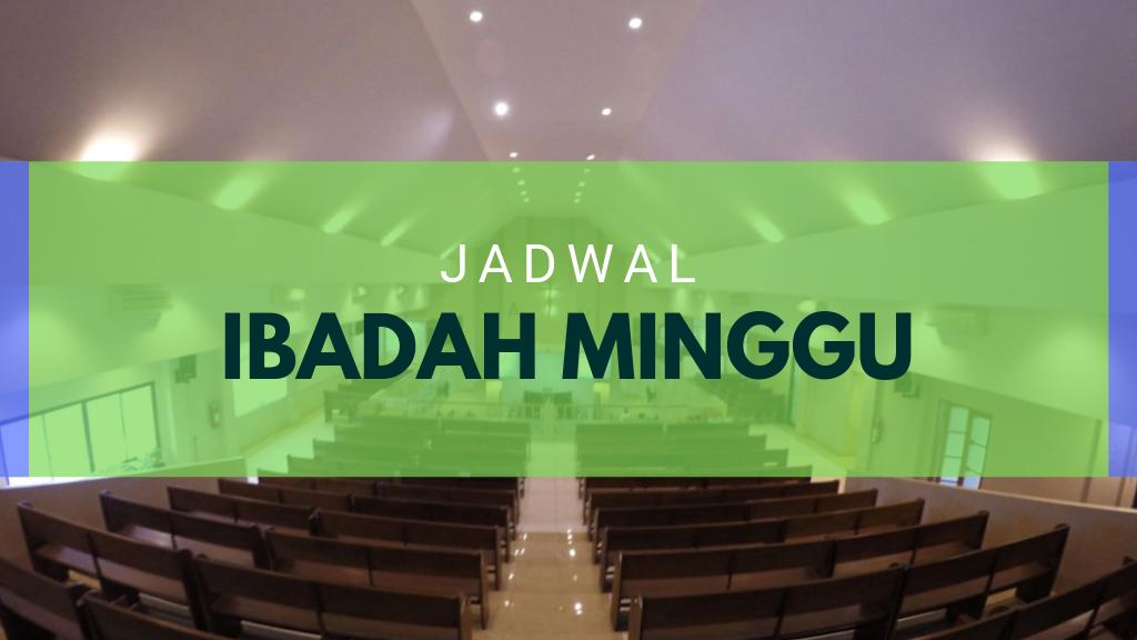 Ibadah Minggu 01 Des 2019