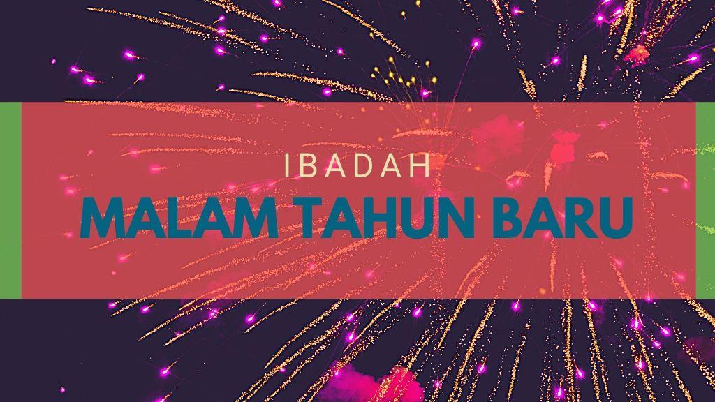 Petugas Ibadah Malam Akhir Tahun 31 Desember 2019