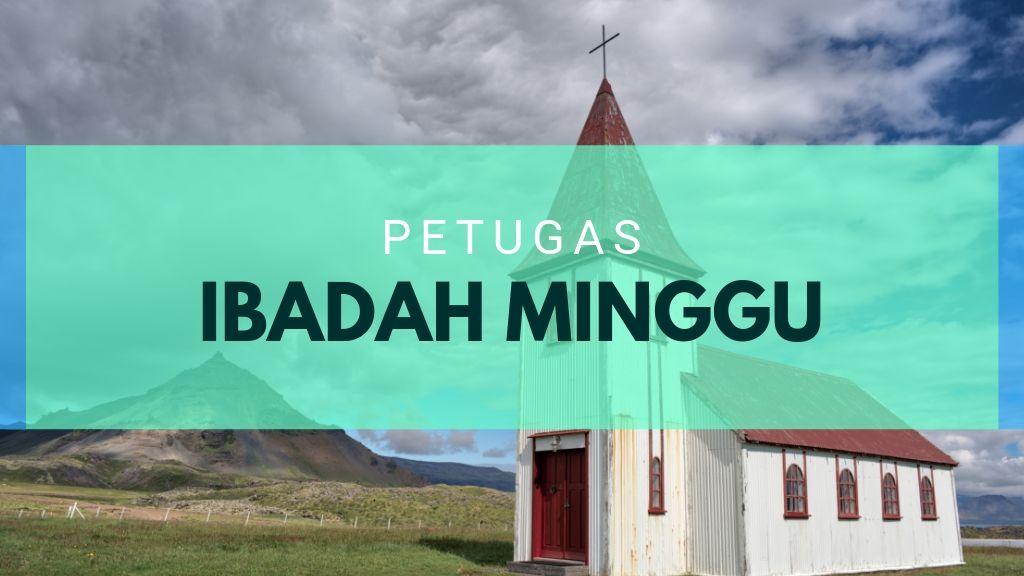 Ibadah Minggu 29 September 2019