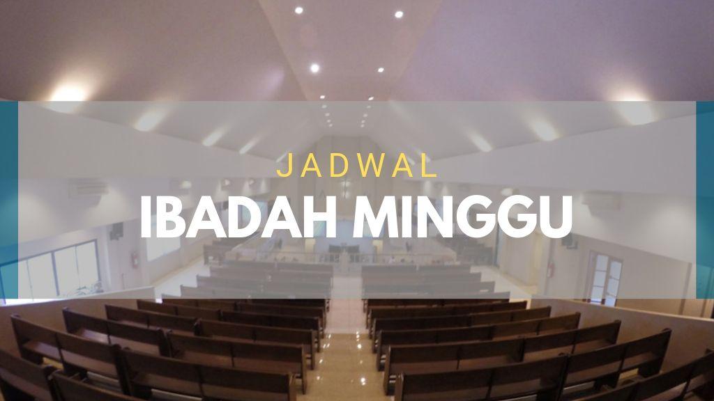 Petugas Ibadah Minggu 16 Juni 2019