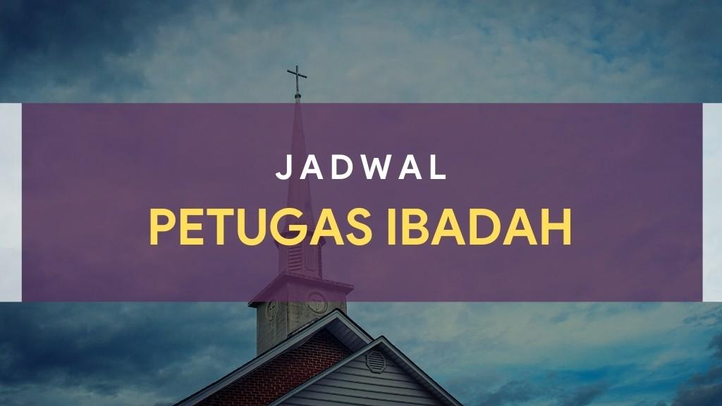 Petugas Ibadah Minggu 04 April 2021