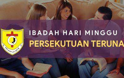 Ibadah Hari Minggu Persekutuan Teruna (IHMPT) 28 Feb 2021