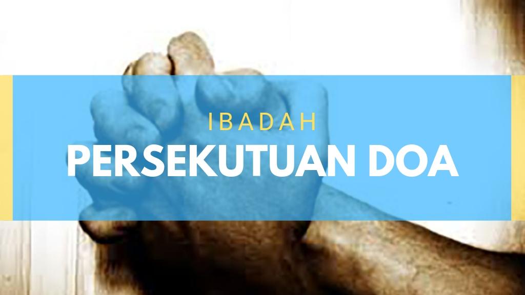 Jadwal Ibadah Persekutuan Doa Jun'19