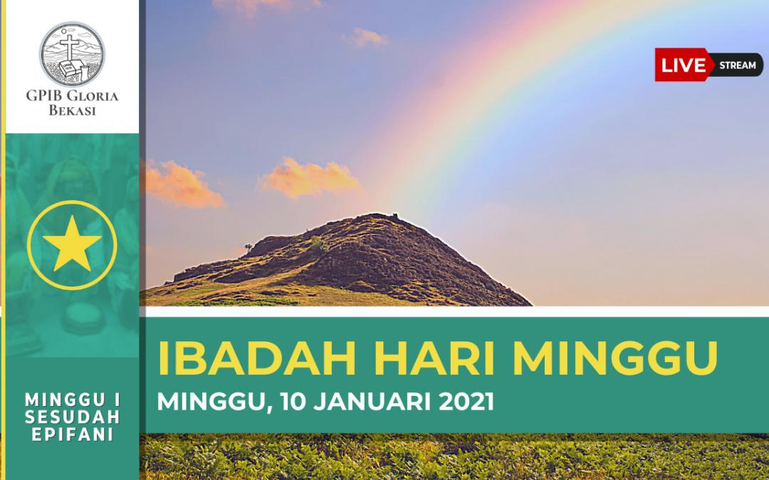 Petugas Ibadah Minggu 10 Januari 2021