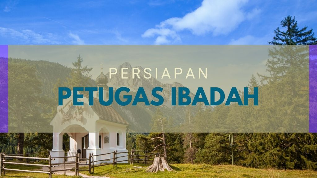 Persiapan Petugas Ibadah 20 Mar '20