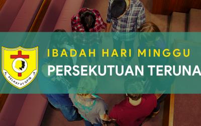 Ibadah Hari Minggu Persekutuan Teruna (IHMPT) 10 Oktober 2021