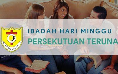 Ibadah Hari Minggu Persekutuan Teruna (IHMPT) 11 Apr 2021