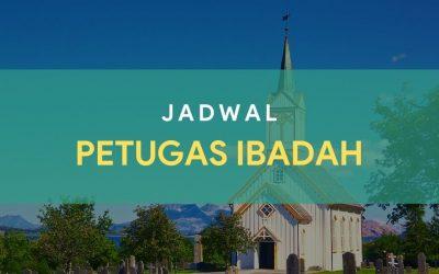 Petugas Ibadah Minggu 28 Februari 2021