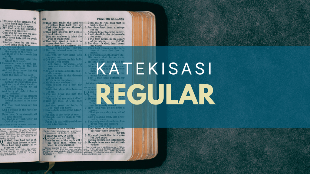 Katekisasi Reguler September 2018