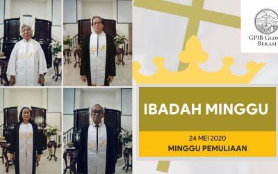 VIDEO – Ibadah Minggu 24 Mei 2020